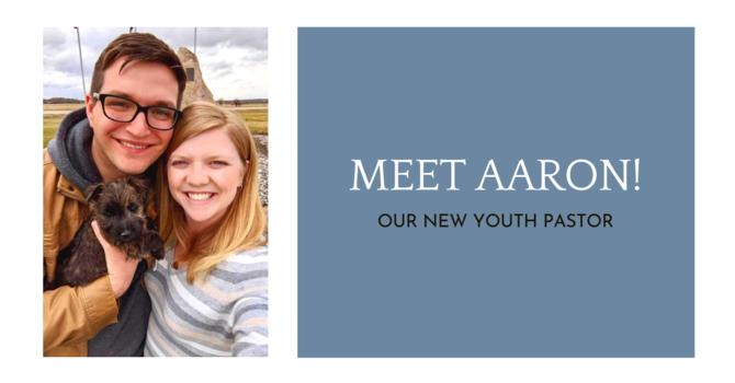 Announcing Aaron Braaksma - Lambrick's new Youth Pastor! image