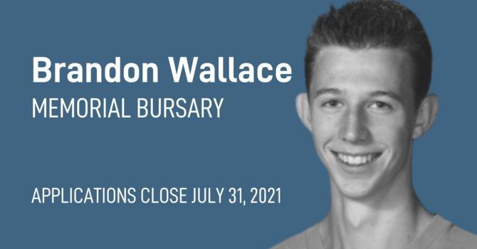 Brandon Wallace Memorial Bursary image
