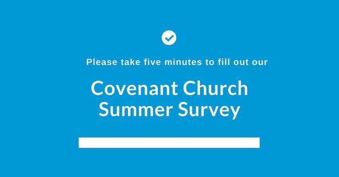 Covenant Summer Survey image