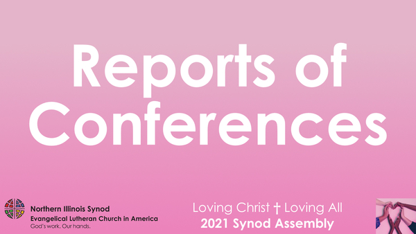 Reports of Conferences