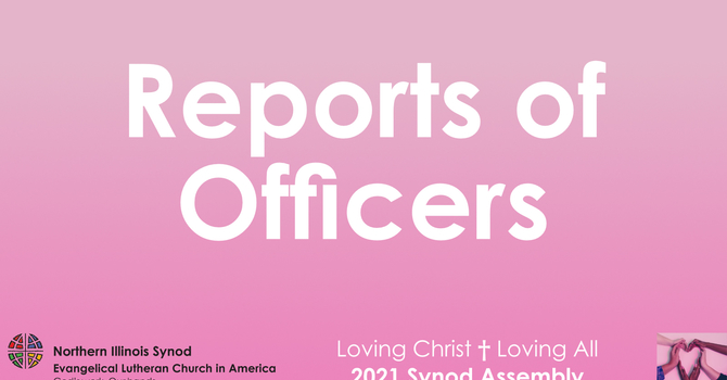 Report of the Director for Evangelical Mission