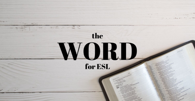 The WORD for ESL