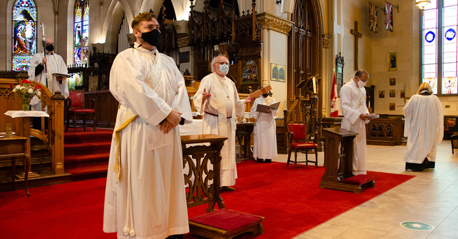 CALLED TO PRIESTHOOD: HURON'S NEWLY ORDAINED