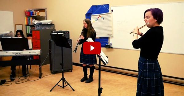 Sr High Band students perform brilliantly