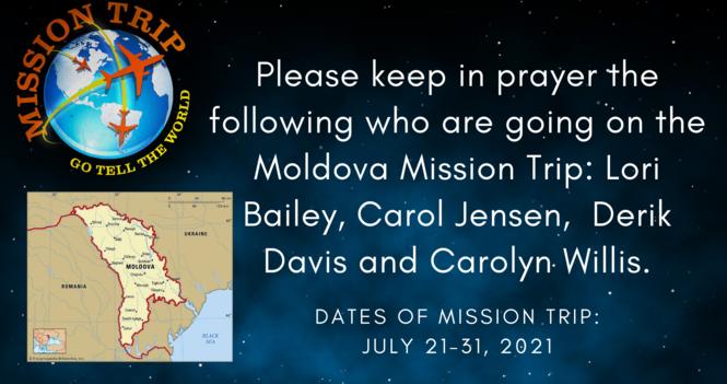 Moldova Mission Trip