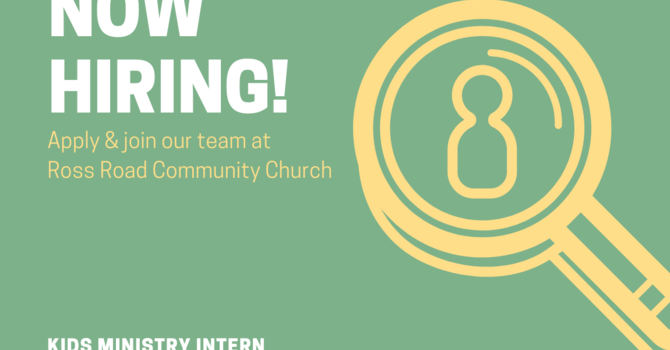 Now Hiring Kids Ministry Intern image