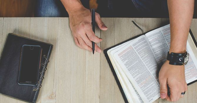 Question: Can you teach me how to read the Bible so that I can understand it? image