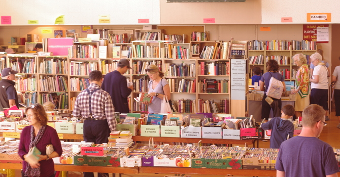 Giant Book and Community Yard Sale - THANKS WPG COMMUNITY image