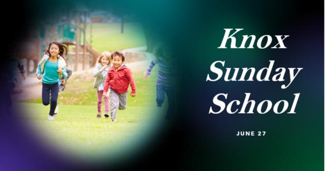 Knox Sunday School