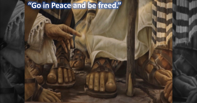 Go in Peace and be freed