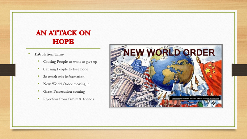 """WATB Church - Dr. June Knight - """"An Attack on HOPE"""""""