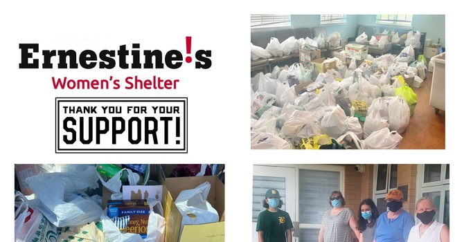 Food Drive for Ernestine's Women's Shelter - June 27 image