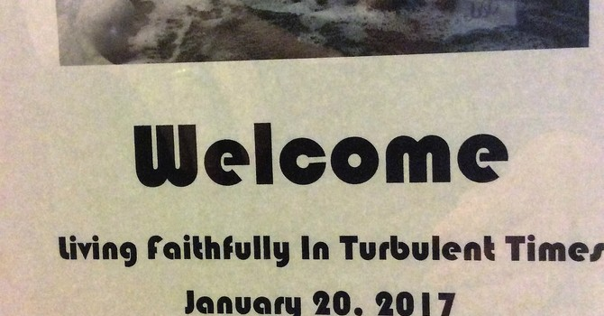 Living Faithfully In Turbulent Times image