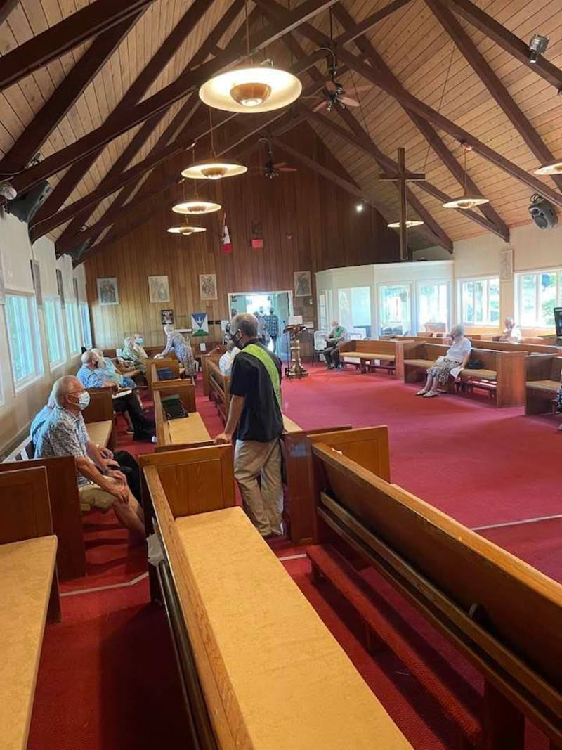 Episcopal Visit to Powell River