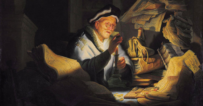 Concerning Treasures  Matthew 6: 19-24 image