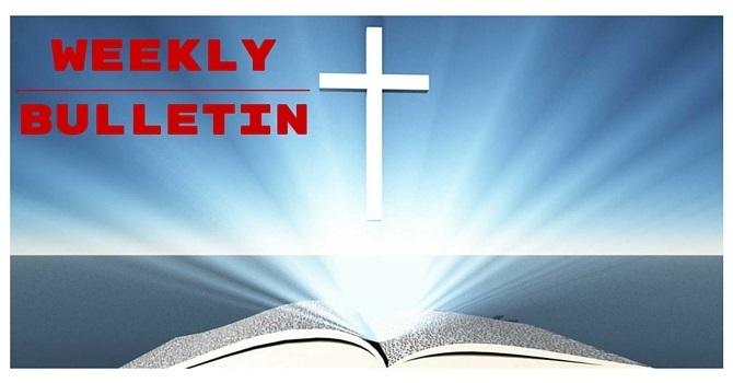 Weekly Bulletin | May 28, 2017 image
