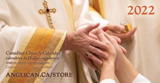 Canadian Church Calendar 2022
