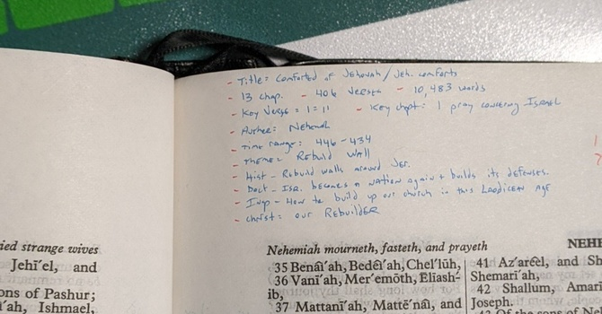 Nehemiah Part 11