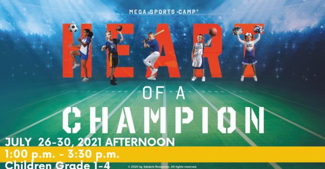 Mega Sports Camp VBS Afternoon Grade 1-4