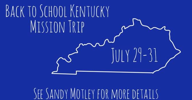Kentucky Mission Trip