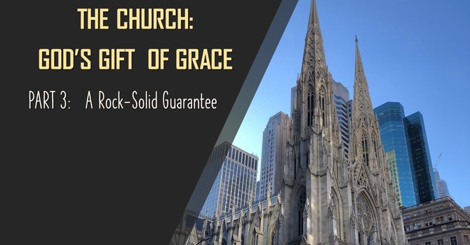 """""""The Confidence of Grace: A Rock-Solid Guarantee"""""""