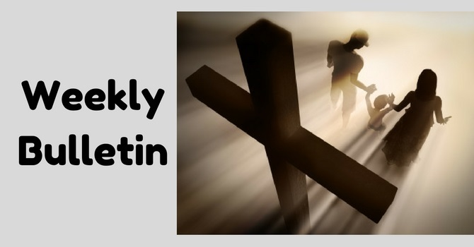 Weekly Bulletin | January 8, 2017 image