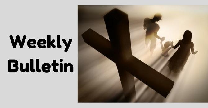 Weekly Bulletin | January 22, 2017 image