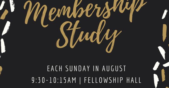 Sunday School, August 2021