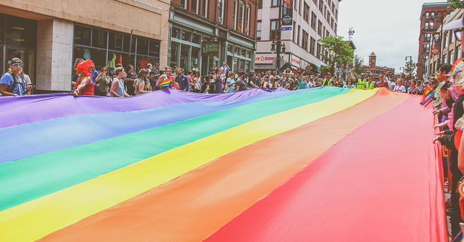 Pride and the pandemic: drawing our rainbows outside the box