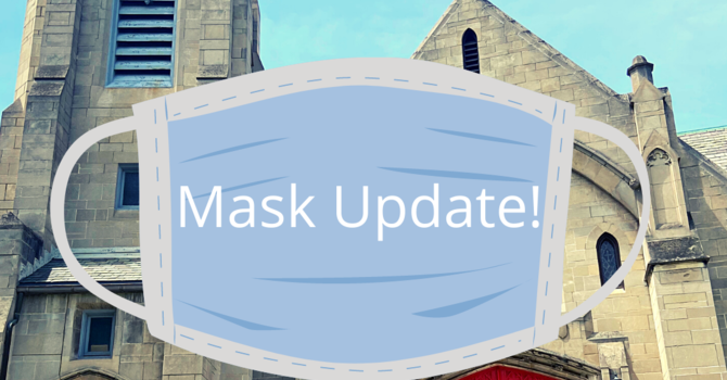 Mask Update as of 7/1 and Summer Worship  image