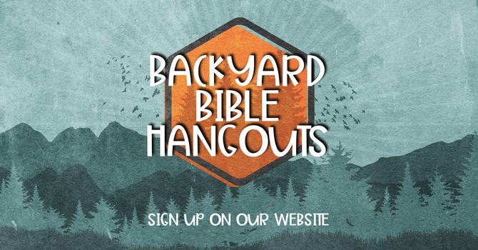Backyard Bible Hangouts