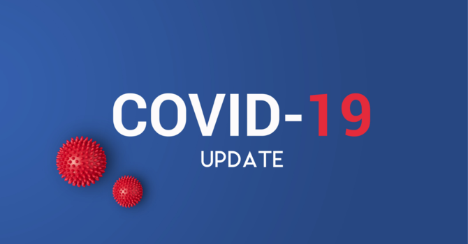Covid 19 Update:  Bishop Lifts More Restrictions! image