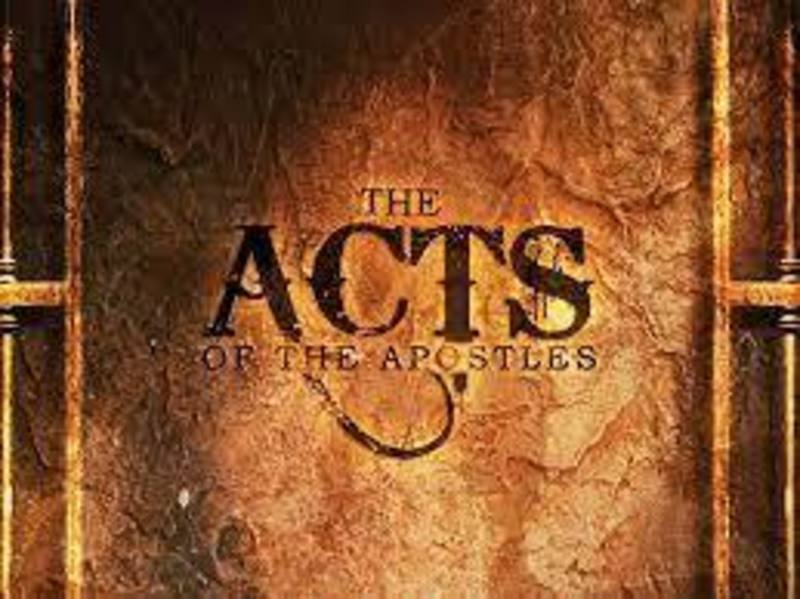 Acts 5:12-25