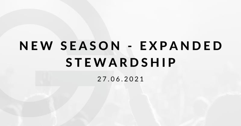 New Season - Expanded Stewardship