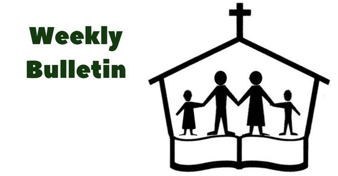 Weekly Bulletin   June 11, 2017 image