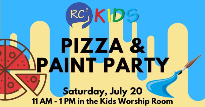 RC3 Kids Pizza & Paint Party