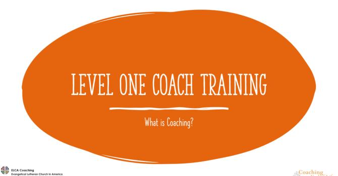 ELCA Level 1 Basic Skills Coach Training