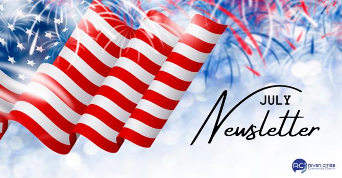 July Newsletter image
