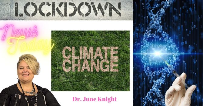 """NEWS TODAY w/Dr. June Knight - TRUMP, Abbott, TX, Flags, Delta """"V"""", Lockdowns Coming, White House image"""