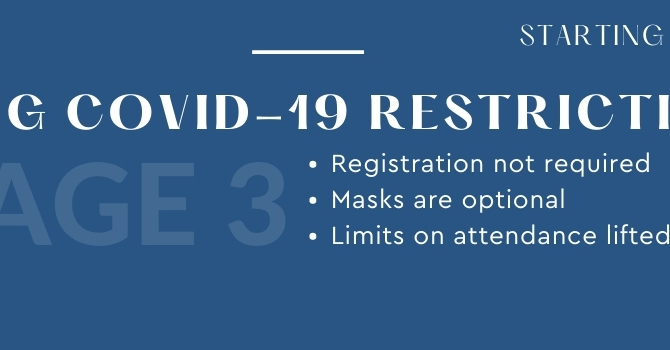 Easing Covid-19 Restrictions  image