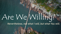 Are We Willing?