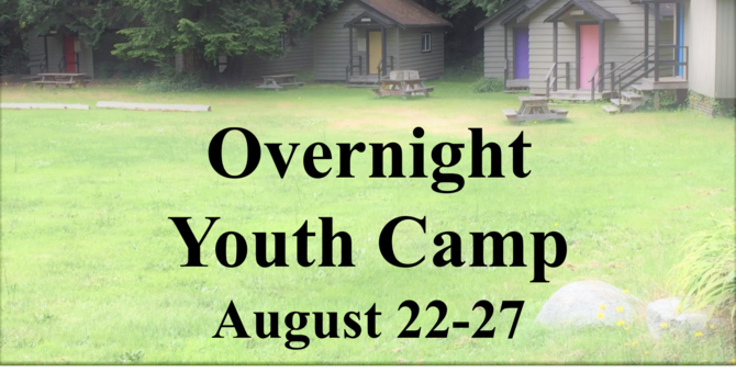 Overnight Youth Camp