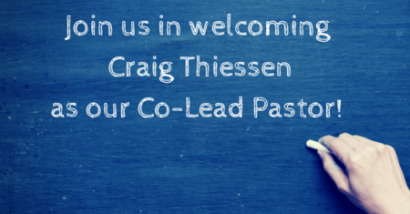 Lead Pastor Succession