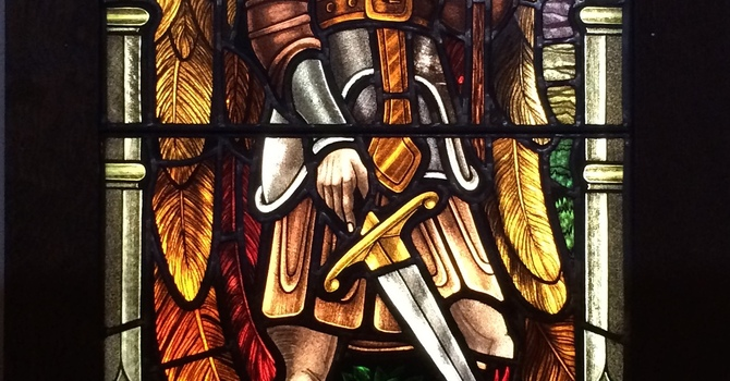Throwing Down the Dragon, Raising the Lamb: A Sermon for St. Michael & All Angels