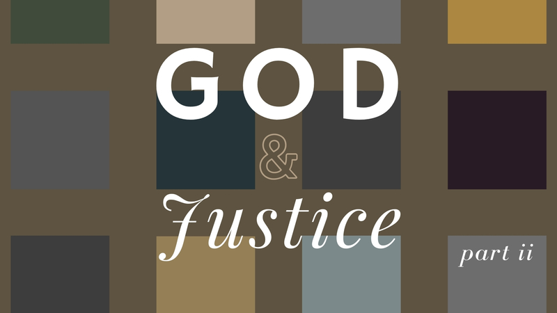 The Entrance of Sin and Injustice