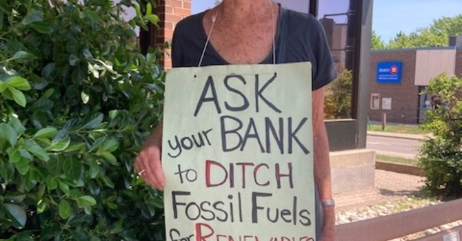 Fossil fuel signs.