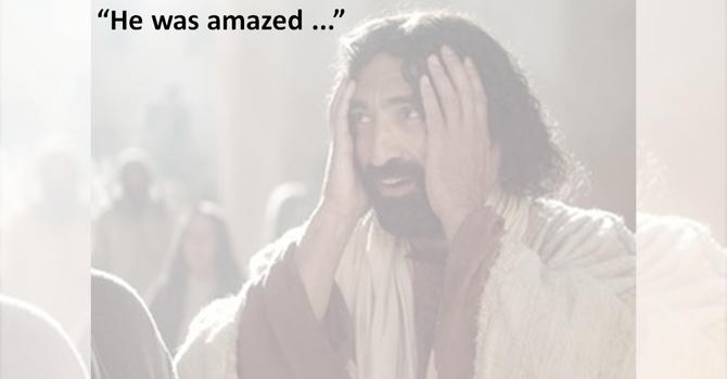 He was amazed.