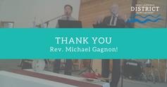 Thank you rev michael gagnon