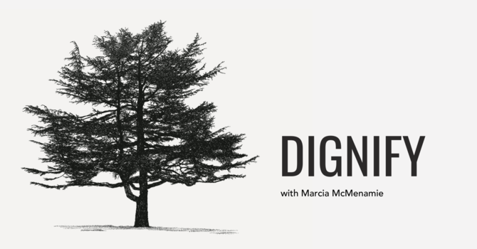 Dignify: Episode 3 with Marcia McMenamie/ Click here image