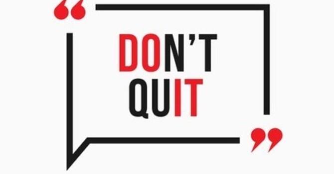 Don't Quit image